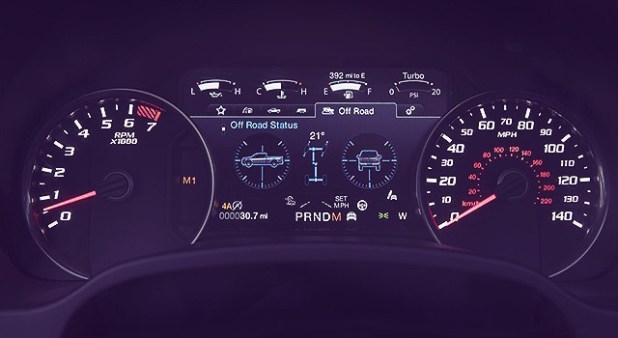 2019 Ford F150 Raptor interior