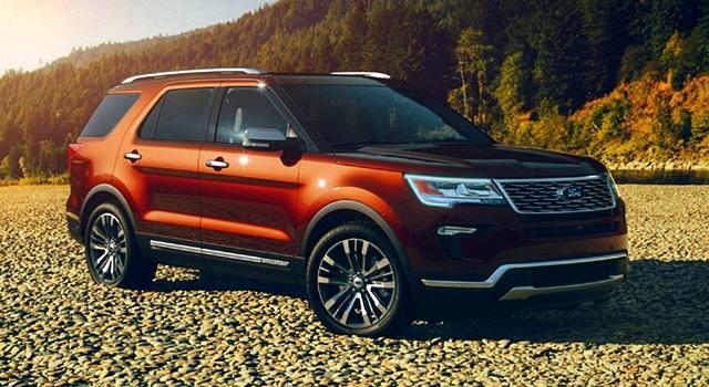 2019 Ford Explorer and Explorer Sport exterior