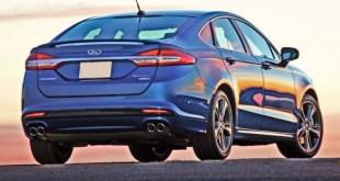 2020 Ford Fusion rear
