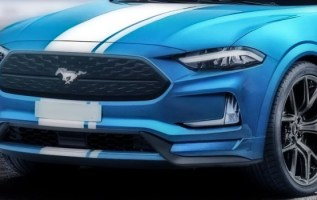 2020 Ford Mustang Mach1 exterior