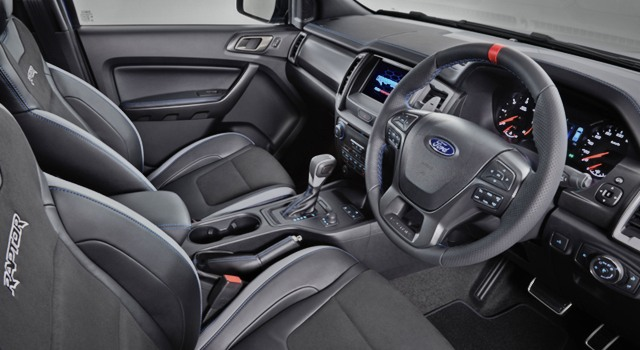 2020 Ford Ranger Raptor Interior - Ford Tips