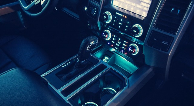 2020 Ford F-150 Hybid interior