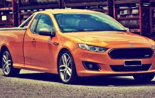 2019 Ford Ranchero front
