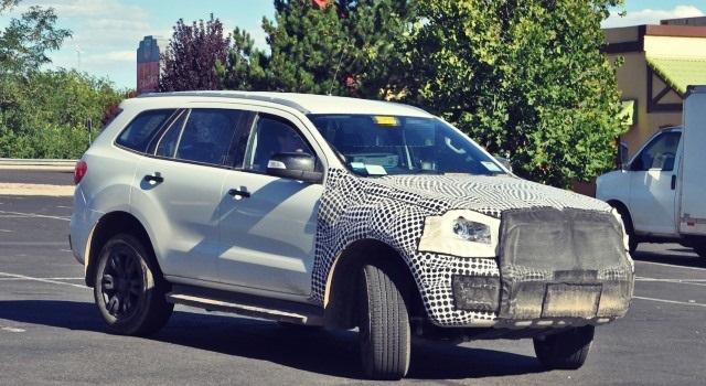 2020 Ford Bronco spyshot