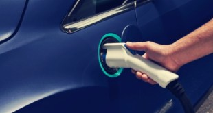 2020 Ford Model E charging