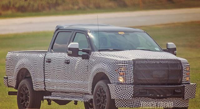 2020 Ford Super Duty Spy Shot