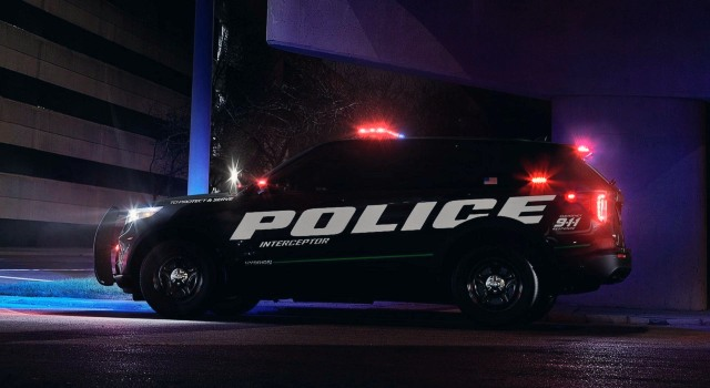 2020 Ford Explorer Police Interceptor exterior