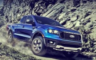2020 Ford Ranger Hybrid Front