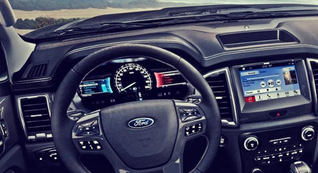 2020 Ford Ranger Hybrid interior