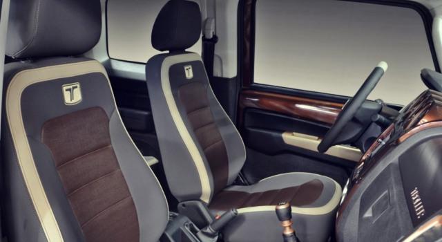 Ford Troller T4 interior