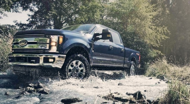 2020 Ford F-250 Super Duty With the New Engine and Transmission