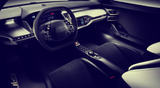 2020 Ford GTS interior