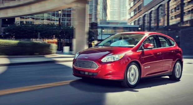 2020 Ford Focus Electric exterior