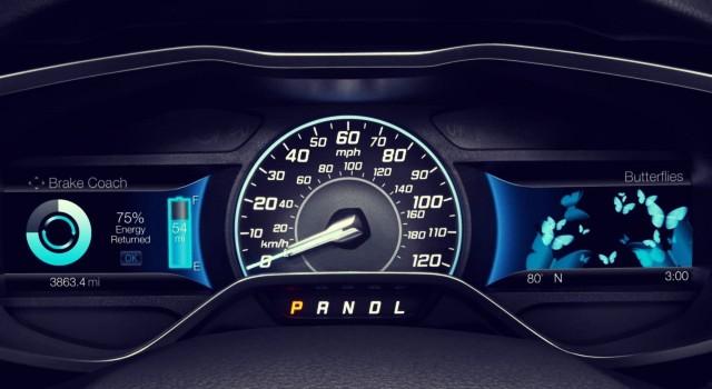2020 Ford Focus Electric interior