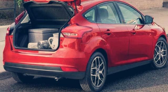 2020 Ford Focus Hybrid rear