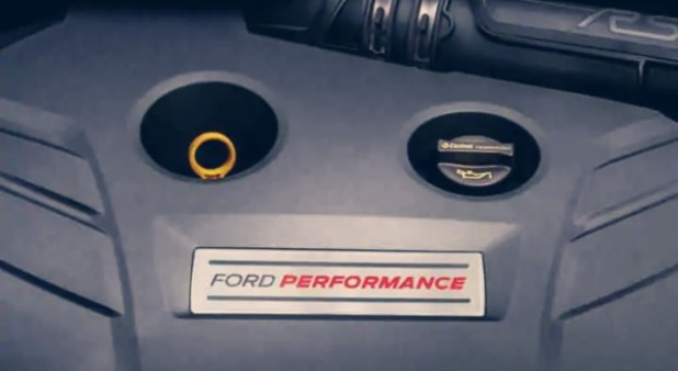 2020 Ford Focus RS engine