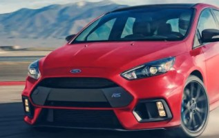 2020 Ford Focus RS exterior