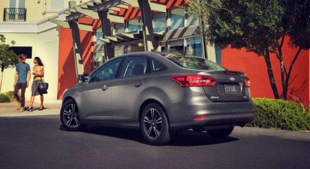 2020 Ford Focus Sedan exterior