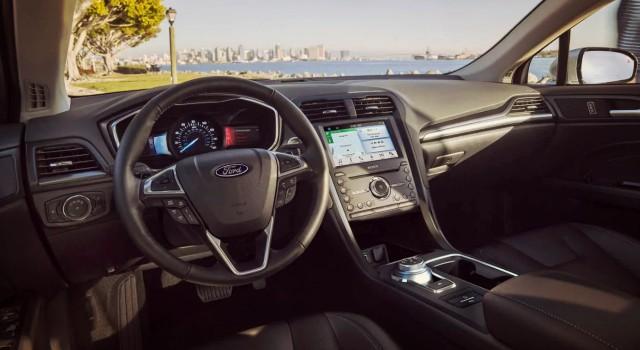 2020 Ford Fusion Energi interior