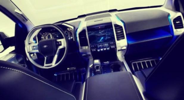 2020 Ford Super Chief interior
