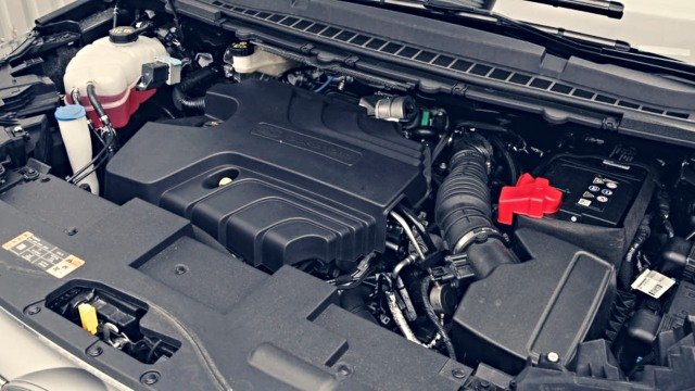 2021 Ford Courier Engine