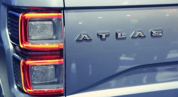2020 Ford Atlas rear