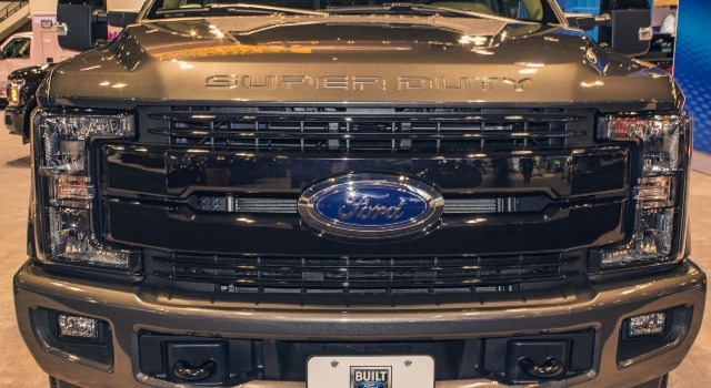 2020 Ford F-350 Super Duty grille