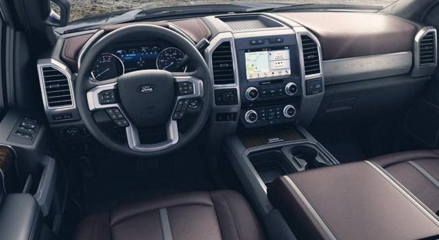 2020 Ford F-350 Super Duty interior