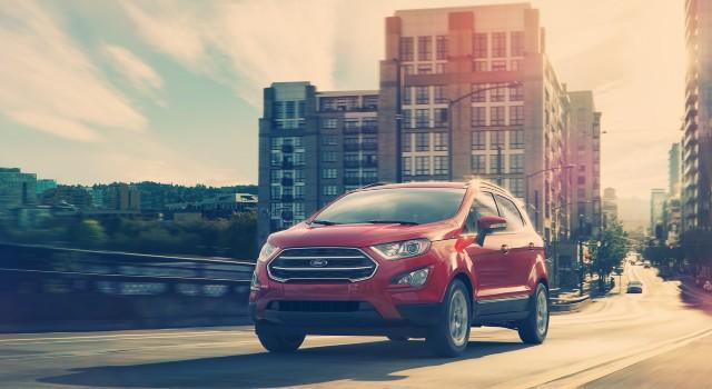 2020 Ford EcoSport SE facelift