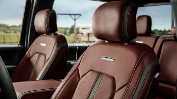 2020 Ford F-250 Platinum interior