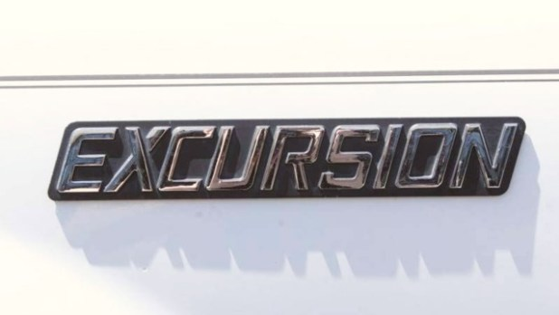2021 Ford Excursion emblem