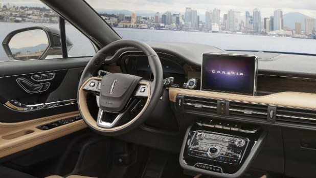 2021 Lincoln Corsair Grand Touring interior