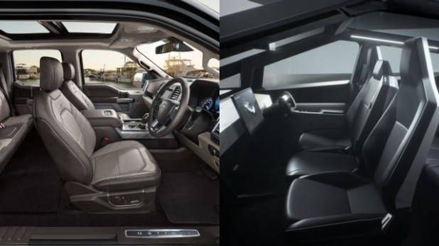 2021 Ford F-150 Electric interior