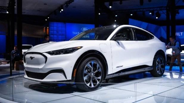 2021 Ford Mach-E First Edition exterior