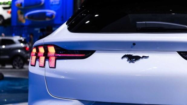2021 Ford Mach-E First Edition rear