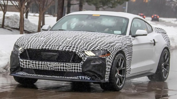 2021 Ford Mustang Mach 1 spy shots