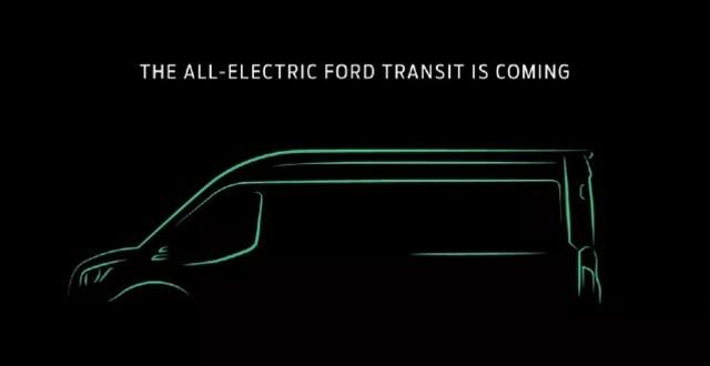 2021 Ford Transit EV