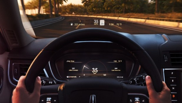 2021 Lincoln Continental interior