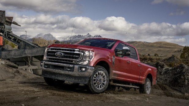 2021 Ford F-250 Super Duty facelift