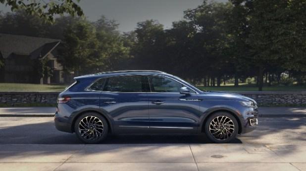 2021 Lincoln Nautilus facelift