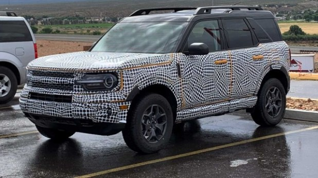 2021 Ford Bronco Sport spied