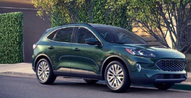 2021 Ford Escape PHEV exterior