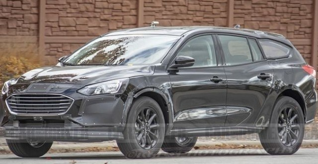 2021 Ford Fusion Wagon spy shots