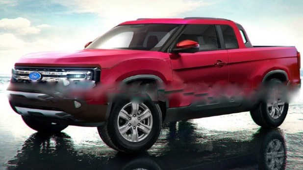 2022 Ford Courier design