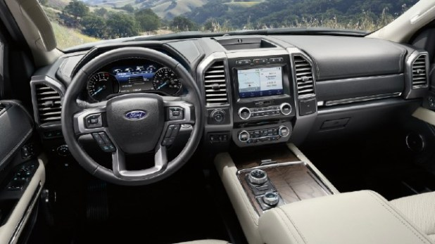 2021 Ford Expedition Diesel interior