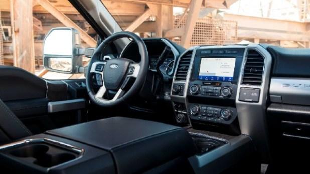 2021 Ford F-250 Tremor interior