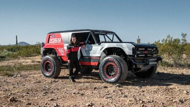 2021 Ford Bronco R prototype
