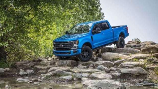 2021 Ford F-150 Tremor design