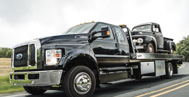 2021 Ford F-650 changes