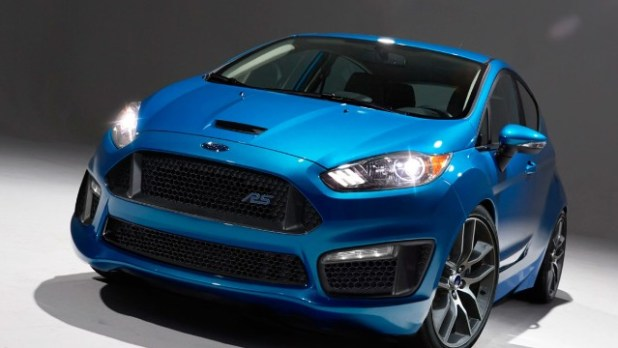 2021 Ford Fiesta RS design